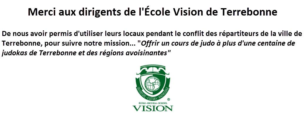 École vision MERCI 2015