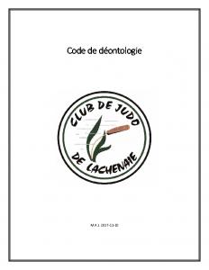 Code de déontologie_20171110